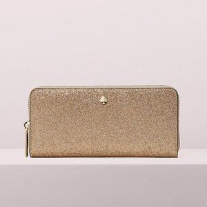 NWT KATE SPADE BURGESS COURT CONTINENTAL WALLET